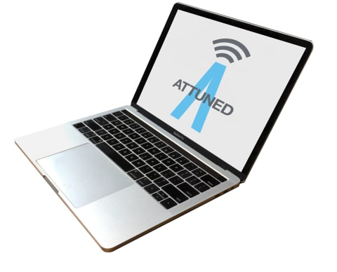 Attuned - Laptop Image