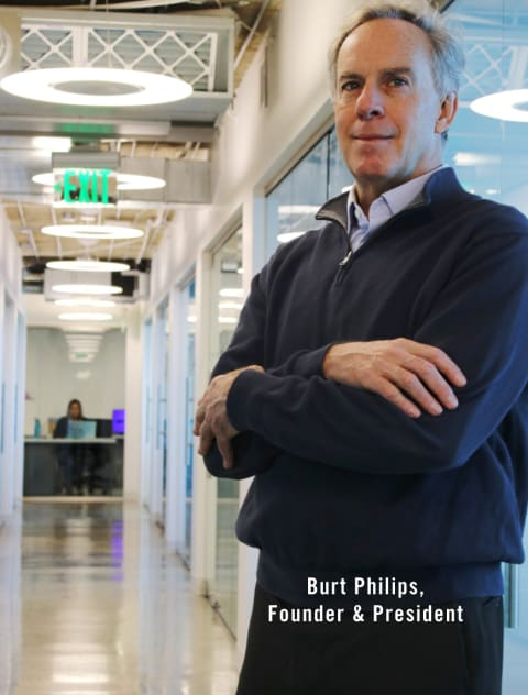 Burt Philips, Founder & President
